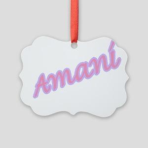 amani Picture Ornament