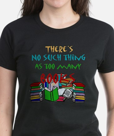 No such thing as too many boo Women's Dark T-Shirt