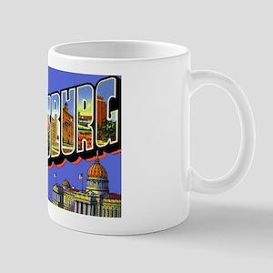 Harrisburg Pennsylvania Greetings Mug