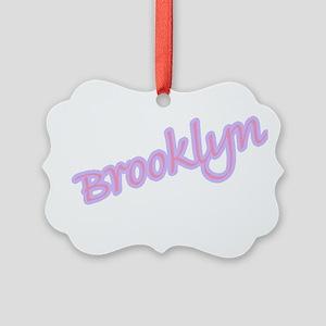 brooklyn Picture Ornament