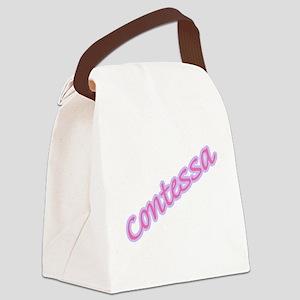 contessa copy Canvas Lunch Bag