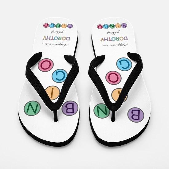 Dorothy BINGO Flip Flops