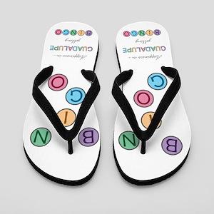 Guadalupe BINGO Flip Flops