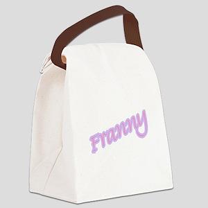 franny copy Canvas Lunch Bag