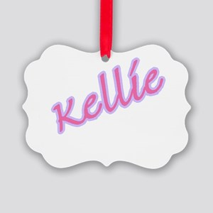 kellie copy Picture Ornament