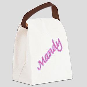 mandy copy Canvas Lunch Bag