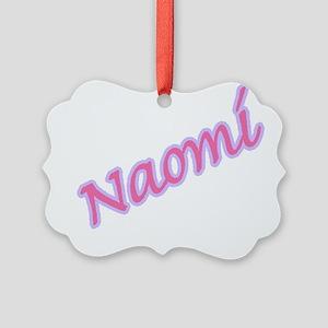 naomi copy Picture Ornament