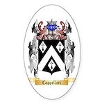Cappellari Sticker (Oval 50 pk)