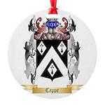 Cappe Round Ornament
