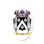 Cappe Oval Car Magnet