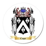 Cappa Round Car Magnet