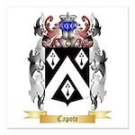 Capote Square Car Magnet 3