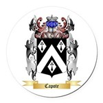 Capote Round Car Magnet