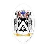 Capot Oval Car Magnet