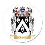Capot Round Car Magnet