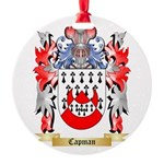 Capman Round Ornament