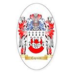 Capman Sticker (Oval 10 pk)