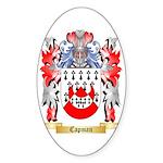 Capman Sticker (Oval 50 pk)