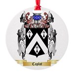 Caplot Round Ornament