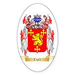 Caple Sticker (Oval 50 pk)
