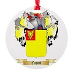Capini Round Ornament