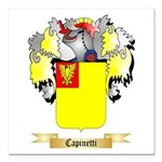 Capinetti Square Car Magnet 3