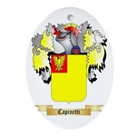 Capinetti Ornament (Oval)