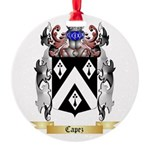 Capez Round Ornament