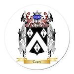 Capez Round Car Magnet
