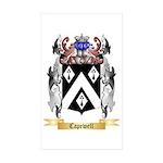 Capewell Sticker (Rectangle 10 pk)