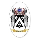 Capewell Sticker (Oval 50 pk)