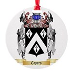 Capers Round Ornament