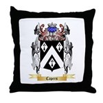 Capers Throw Pillow