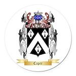 Caper Round Car Magnet