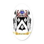 Capelon Oval Car Magnet