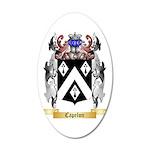 Capelon 35x21 Oval Wall Decal