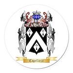 Capellozzi Round Car Magnet