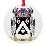 Capello Round Ornament