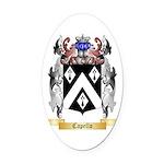 Capello Oval Car Magnet