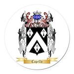Capello Round Car Magnet