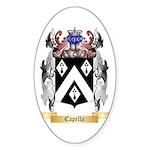 Capello Sticker (Oval 50 pk)