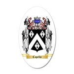 Capello 35x21 Oval Wall Decal