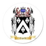 Capelli Round Car Magnet