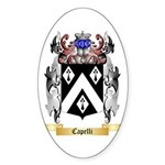 Capelli Sticker (Oval)