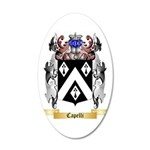 Capelli 35x21 Oval Wall Decal