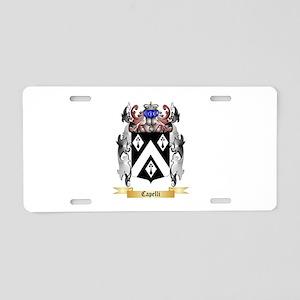 Capelli Aluminum License Plate