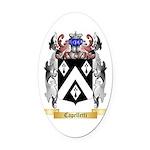 Capelletti Oval Car Magnet