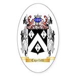 Capelletti Sticker (Oval 10 pk)