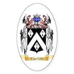 Capelletti Sticker (Oval 50 pk)
