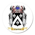 Capellero Round Car Magnet